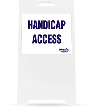 Handicap Access Sign (Model 1550)